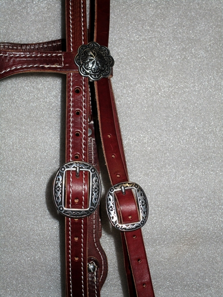 Hermann Oak Bridle Jeremiah Watt Buckles COB size a