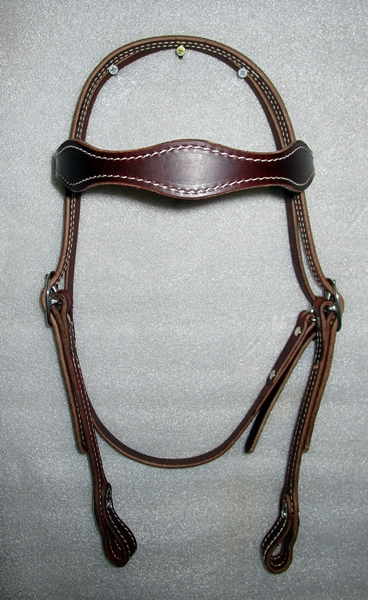 Hermann Oak Bridle Jeremiah Watt Buckles Cob Size c