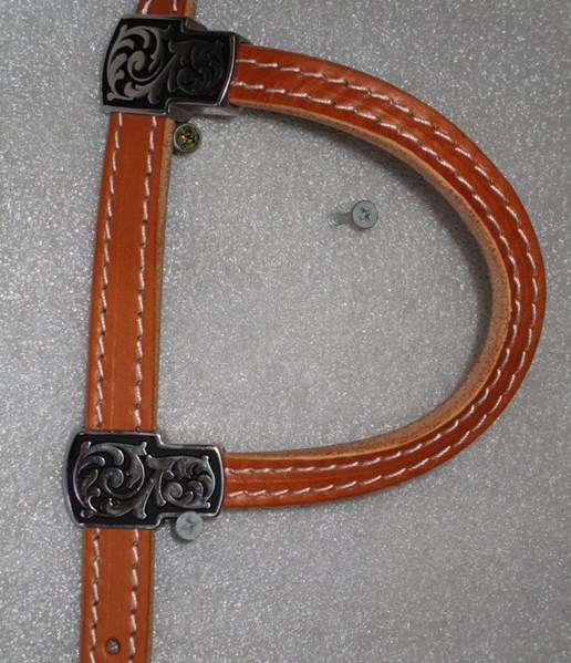 One Ear Bridle Hermann Oak Leather Jeremiah Watt Buckles