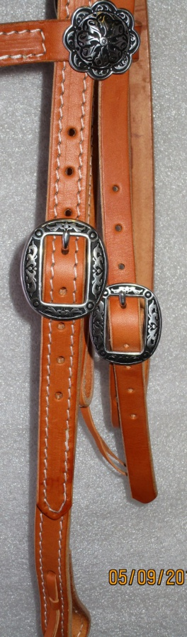 Hermann Oak Bridle Jeremiah Watt Buckles COB size k