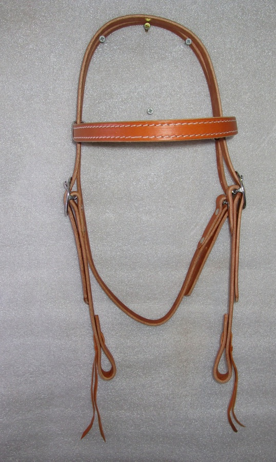 Hermann Oak Bridle Jeremiah Watt Buckles Full size L